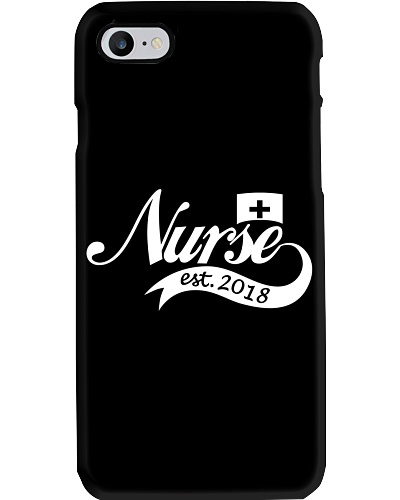 Nurse Est 2018 Shirt Nursing School Graduation