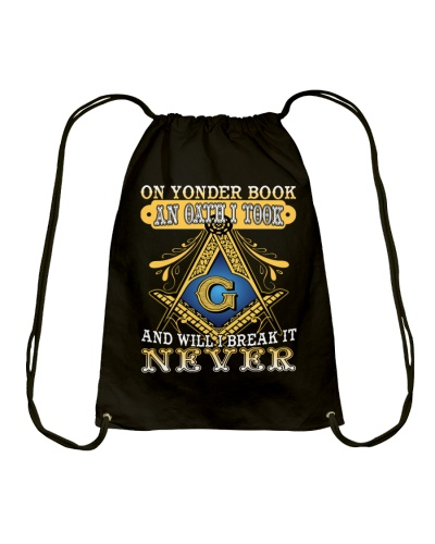 On Yonder Book An Oath I Took