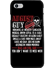August Guy - You Don't Want To Mess With Phone Case thumbnail