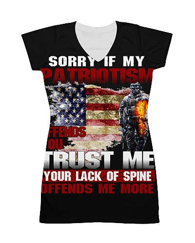 Sorry If My Patriotism Offends You Trust Me