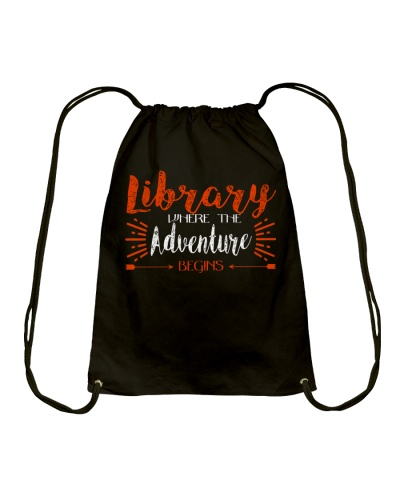 Library Where The Adventure Begins
