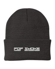 pop smoke hat Knit Beanie front