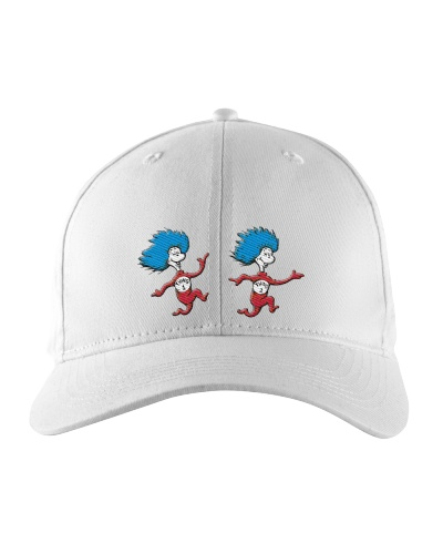 cat in the hat thing 1 and thing 2