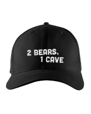 2 bears 1 cave new era hat Embroidered Hat front