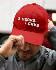 two bears one cave hat Embroidered Hat garment-embroidery-hat-lifestyle-01