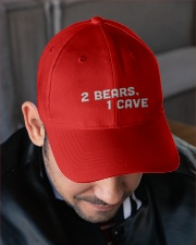 two bears one cave hat Embroidered Hat garment-embroidery-hat-lifestyle-02