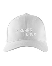 two bears one cave hat Embroidered Hat tile