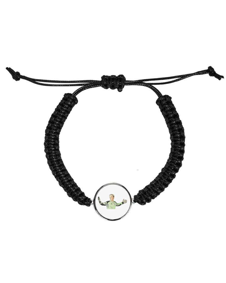 manuel nuer Cord Circle Bracelet