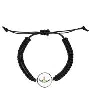 manuel nuer Cord Circle Bracelet front