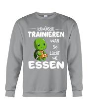 ICH WUNSCHE Crewneck Sweatshirt front
