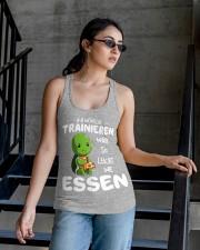 ICH WUNSCHE Ladies Flowy Tank apparel-ladies-flowy-tank-lifestyle-03