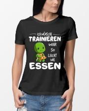 ICH WUNSCHE Ladies T-Shirt lifestyle-women-crewneck-front-10