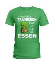 ICH WUNSCHE Ladies T-Shirt front