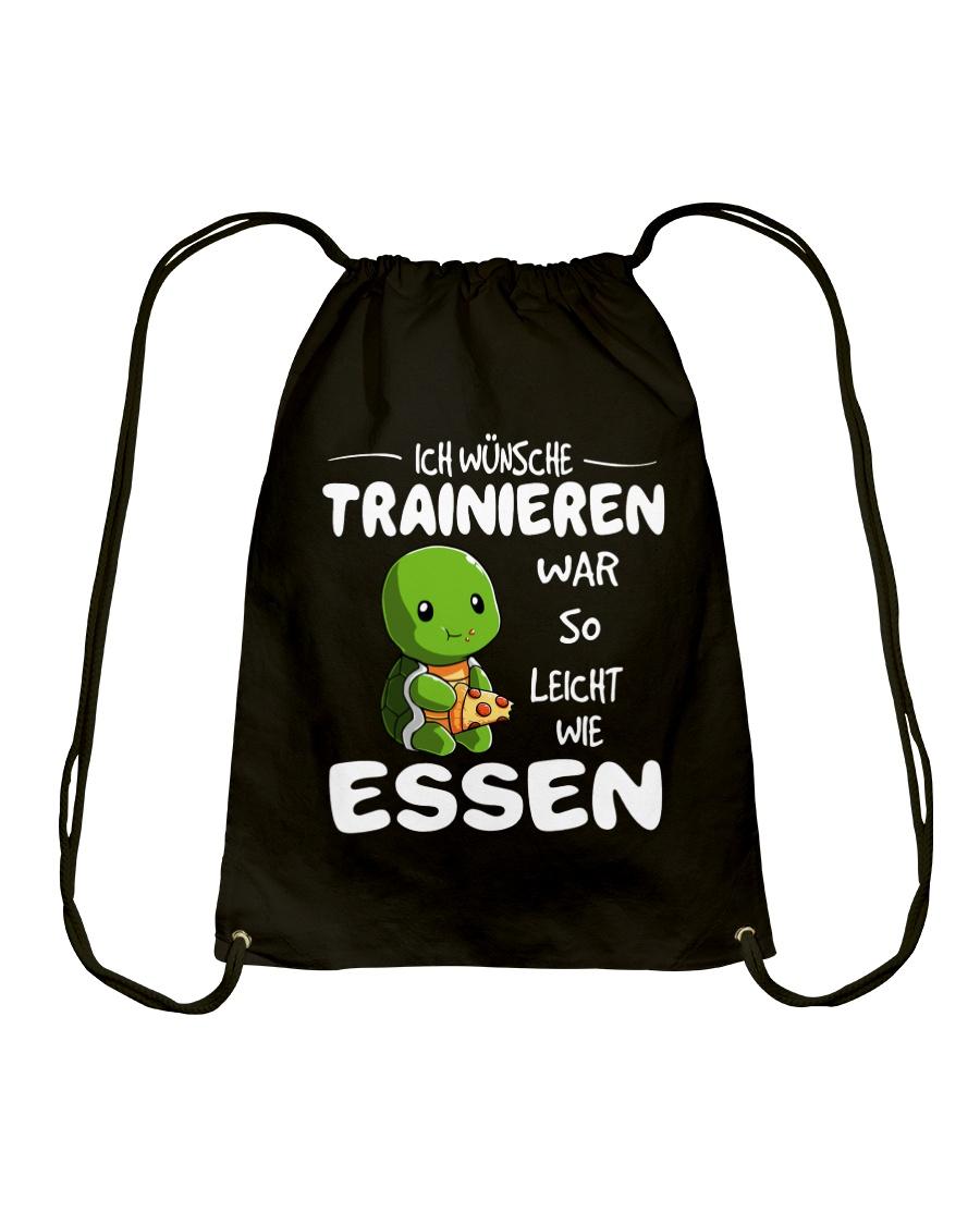 ICH WUNSCHE Drawstring Bag