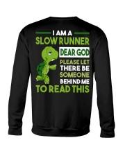 I AM SLOW RUNNER - Legging Crewneck Sweatshirt thumbnail