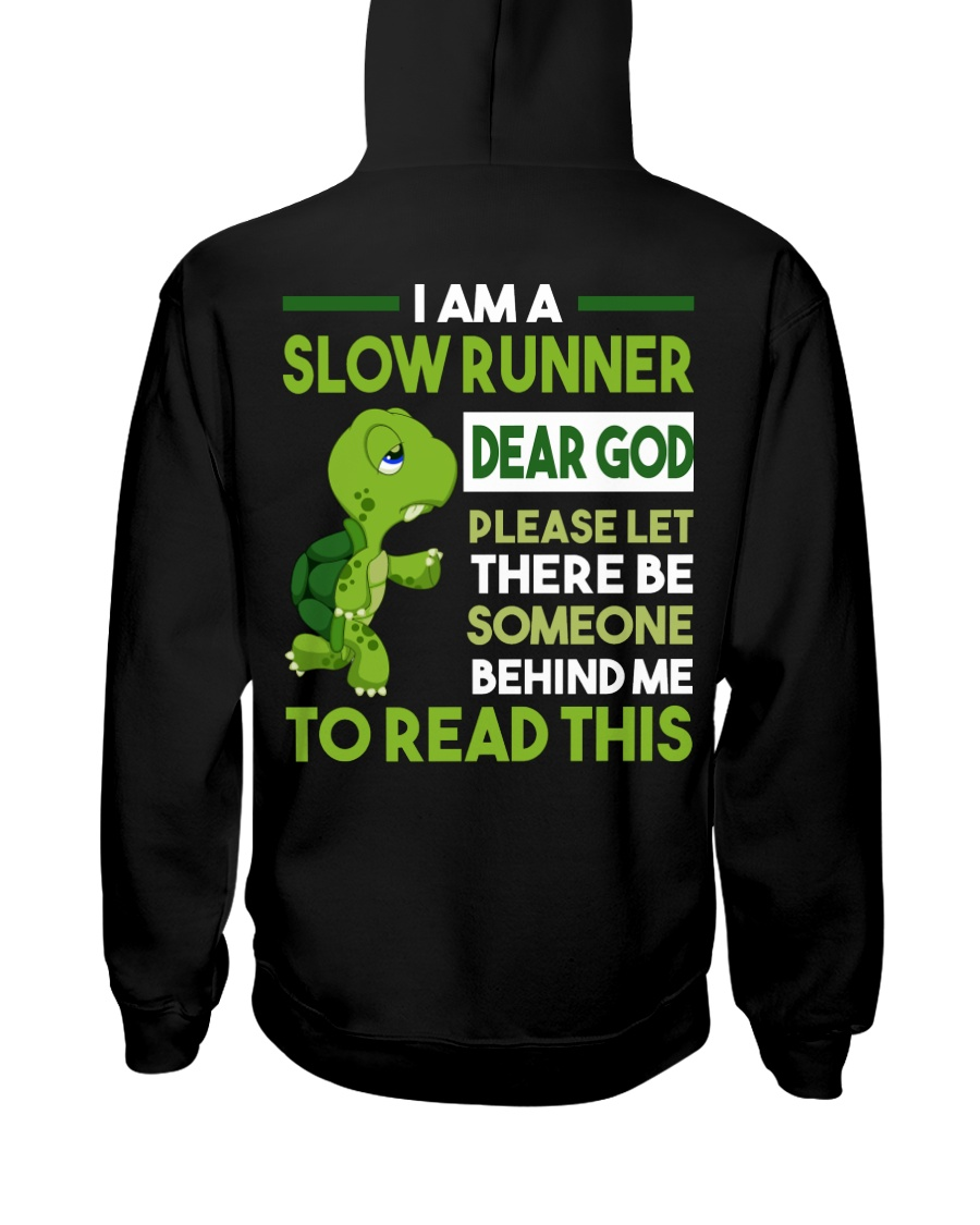 I AM SLOW RUNNER - Legging Hooded Sweatshirt