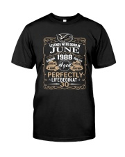 30th Birthday Gift - Legend were born in JUNE Classic T-Shirt tile