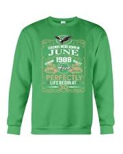 30th Birthday Gift - Legend were born in JUNE Crewneck Sweatshirt front