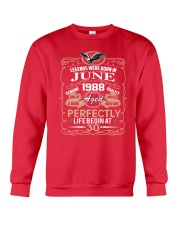 30th Birthday Gift - Legend were born in JUNE Crewneck Sweatshirt front