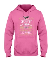 30th Birthday Gift - Legend were born in JUNE Hooded Sweatshirt front