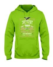 30th Birthday Gift - Legend were born in JUNE Hooded Sweatshirt front