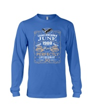 30th Birthday Gift - Legend were born in JUNE Long Sleeve Tee thumbnail