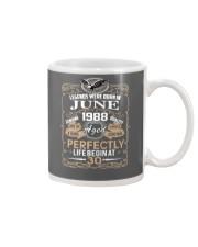 30th Birthday Gift - Legend were born in JUNE Mug front