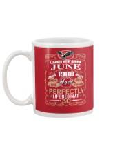 30th Birthday Gift - Legend were born in JUNE Mug back