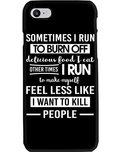 I RUN TO BURN OFF
