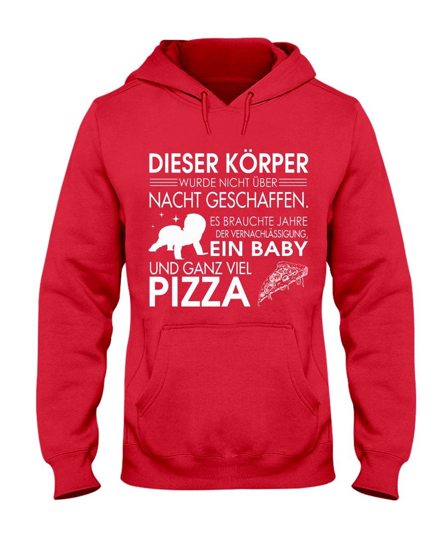 DIESER KORPER Hooded Sweatshirt