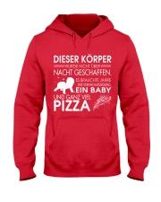 DIESER KORPER Hooded Sweatshirt front