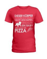 DIESER KORPER Ladies T-Shirt front