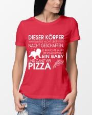 DIESER KORPER Ladies T-Shirt lifestyle-women-crewneck-front-10