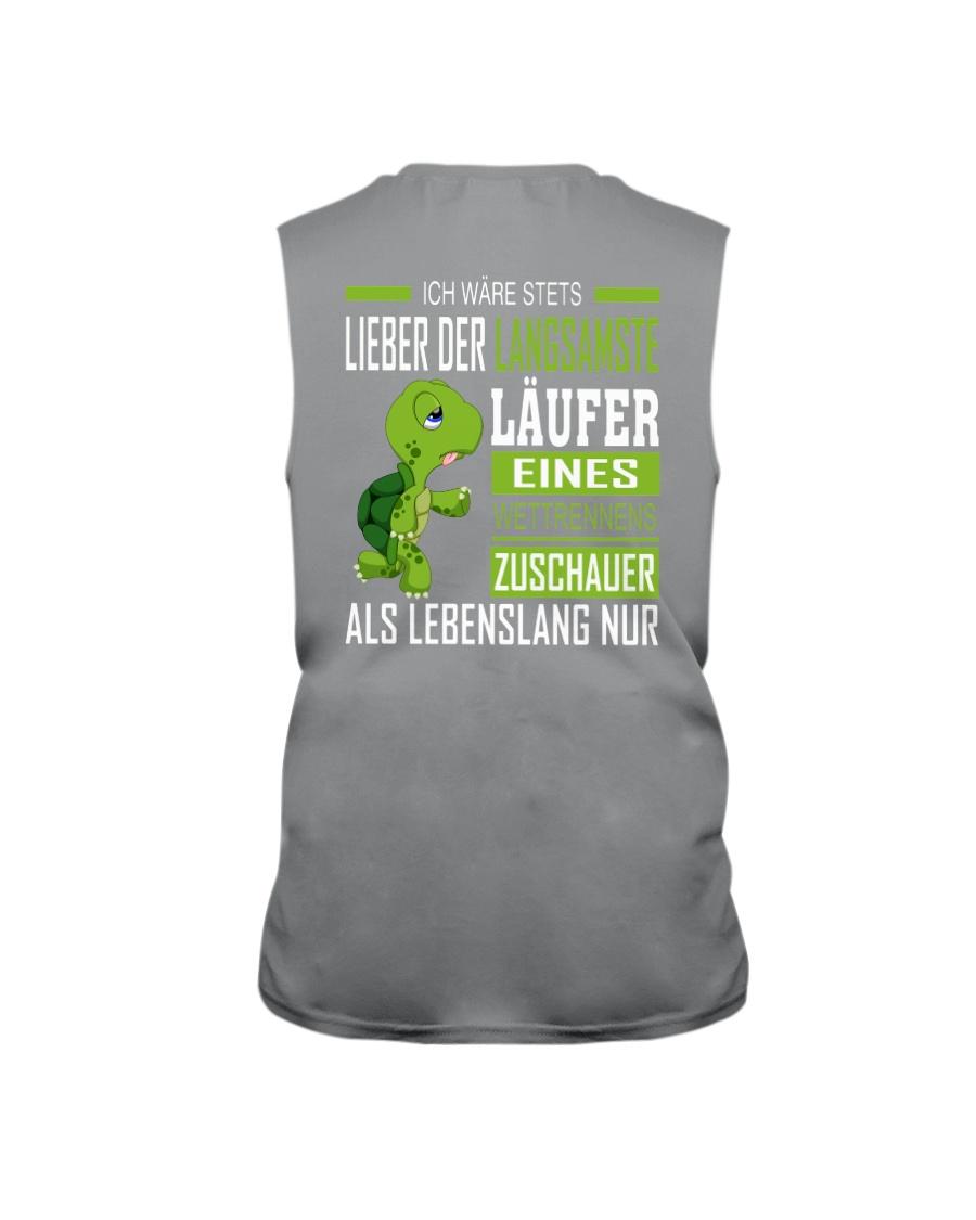 LIEBER DER LANGSAMSTE LAUFER Sleeveless Tee