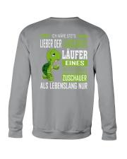 LIEBER DER LANGSAMSTE LAUFER Crewneck Sweatshirt back