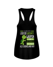 LIEBER DER LANGSAMSTE LAUFER Ladies Flowy Tank back