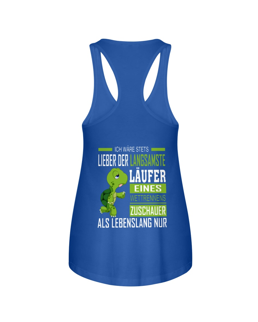 LIEBER DER LANGSAMSTE LAUFER Ladies Flowy Tank