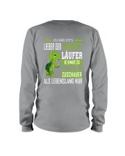 LIEBER DER LANGSAMSTE LAUFER Long Sleeve Tee back