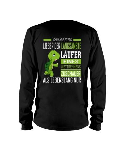 LIEBER DER LANGSAMSTE LAUFER