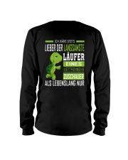 LIEBER DER LANGSAMSTE LAUFER Long Sleeve Tee thumbnail