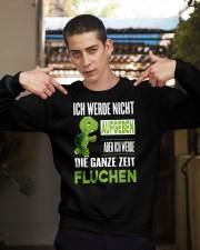ICH WEDE NICHT AUFGEBEN Crewneck Sweatshirt apparel-crewneck-sweatshirt-lifestyle-04