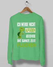 ICH WEDE NICHT AUFGEBEN Crewneck Sweatshirt lifestyle-unisex-sweatshirt-front-10