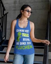 ICH WEDE NICHT AUFGEBEN Ladies Flowy Tank apparel-ladies-flowy-tank-lifestyle-03
