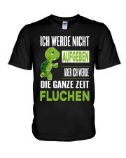 ICH WEDE NICHT AUFGEBEN V-Neck T-Shirt thumbnail