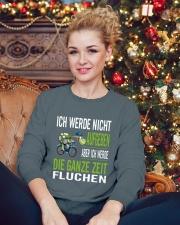 ICH WEDE NICHT AUFGEBEN Crewneck Sweatshirt lifestyle-holiday-sweater-front-2