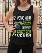 ICH WEDE NICHT AUFGEBEN Ladies Flowy Tank apparel-ladies-flowy-tank-lifestyle-04