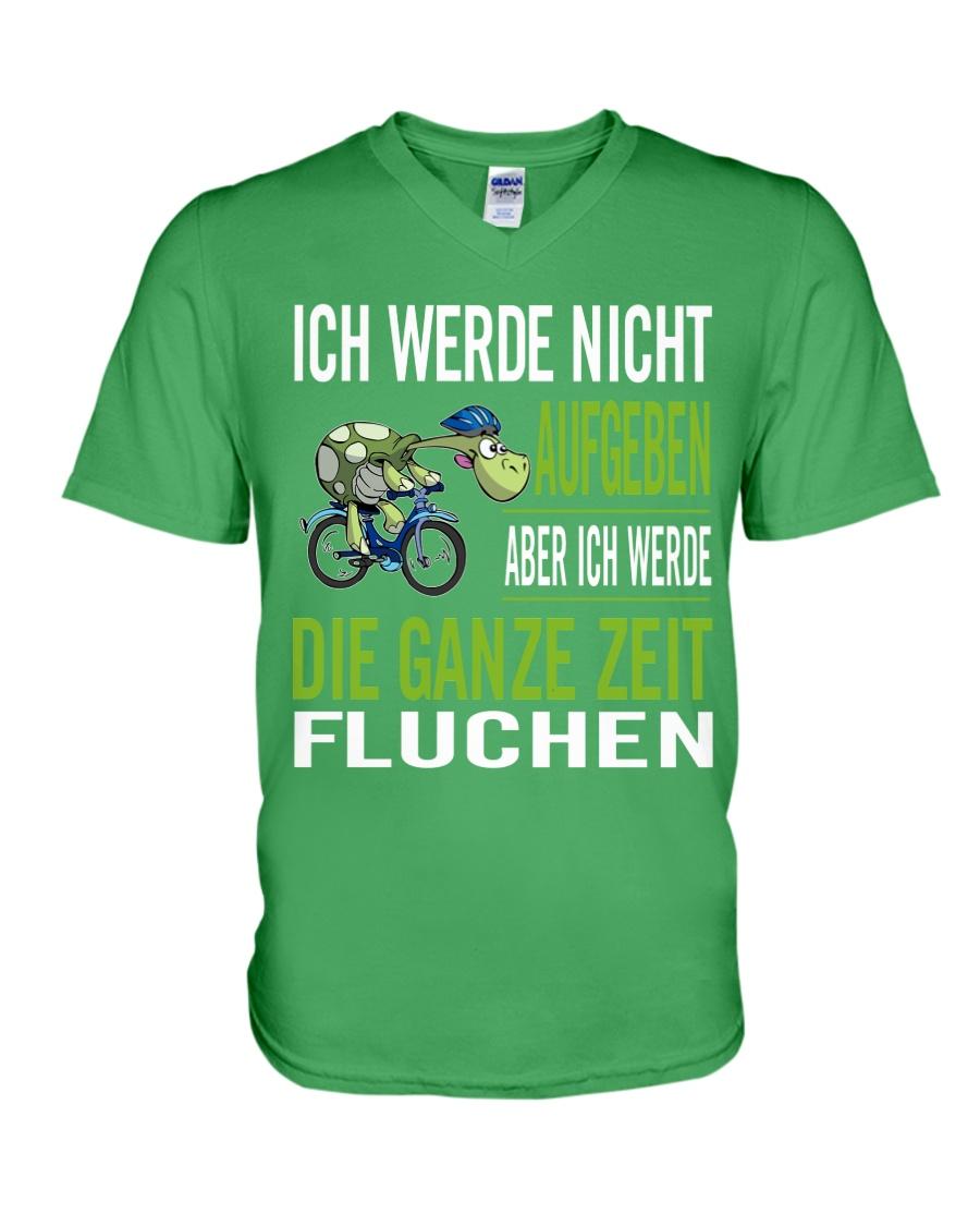ICH WEDE NICHT AUFGEBEN V-Neck T-Shirt