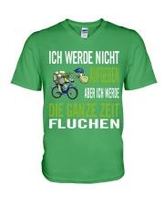 ICH WEDE NICHT AUFGEBEN V-Neck T-Shirt front