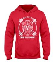ABER BIST DU DRAN GESTORBEN Hooded Sweatshirt front