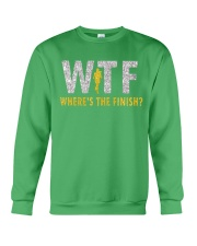 WHERE'S THE FINISH Crewneck Sweatshirt thumbnail